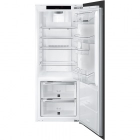 koelkast Smeg S7L148DF2P koelkast inbouw zonder vriesvak