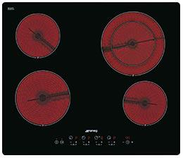 kookplaat Smeg Elementi SE2641TD2 kookplaat vitrokeramisch
