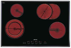 kookplaat Smeg SE2772TC2 kookplaat vitrokeramisch