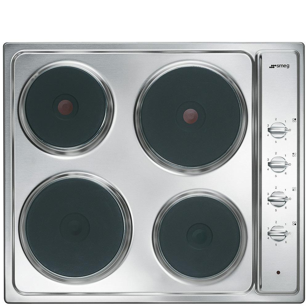 kookplaat Smeg Projects SE435S kookplaat elektrisch