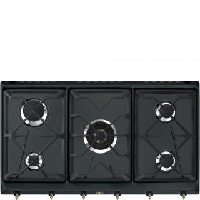 kookplaat Smeg SRV896AOGH kookplaat gas