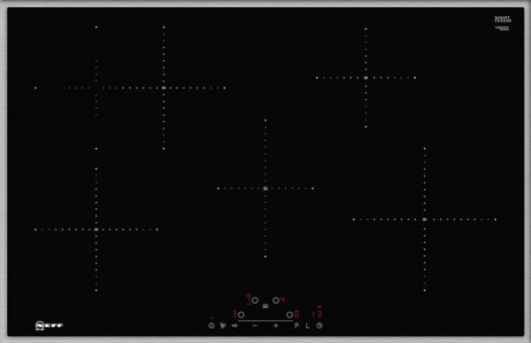 Neff T48BD00N0 kookplaat inductiekookplaat T 48BD00N0 T 48 BD 00 N 0