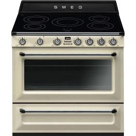 fornuis inductie (kookplaat) + gas (oven) Smeg Vrijstaand TR90IP9 fornuis inductie (kookplaat) + gas (oven)