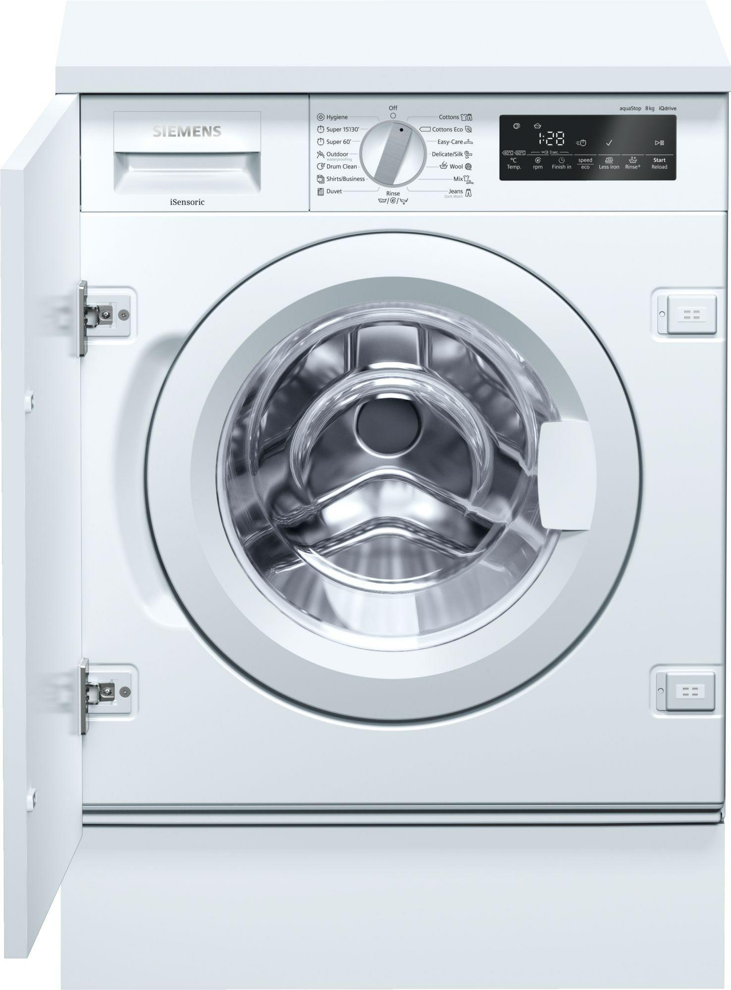 wasmachine Siemens WI14W540EU wasmachine